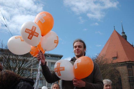 Demo gegen Rechts, 31.3., Brandenburg an der Havel